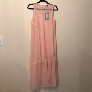Light Pink Who What Wear Maxi Dress